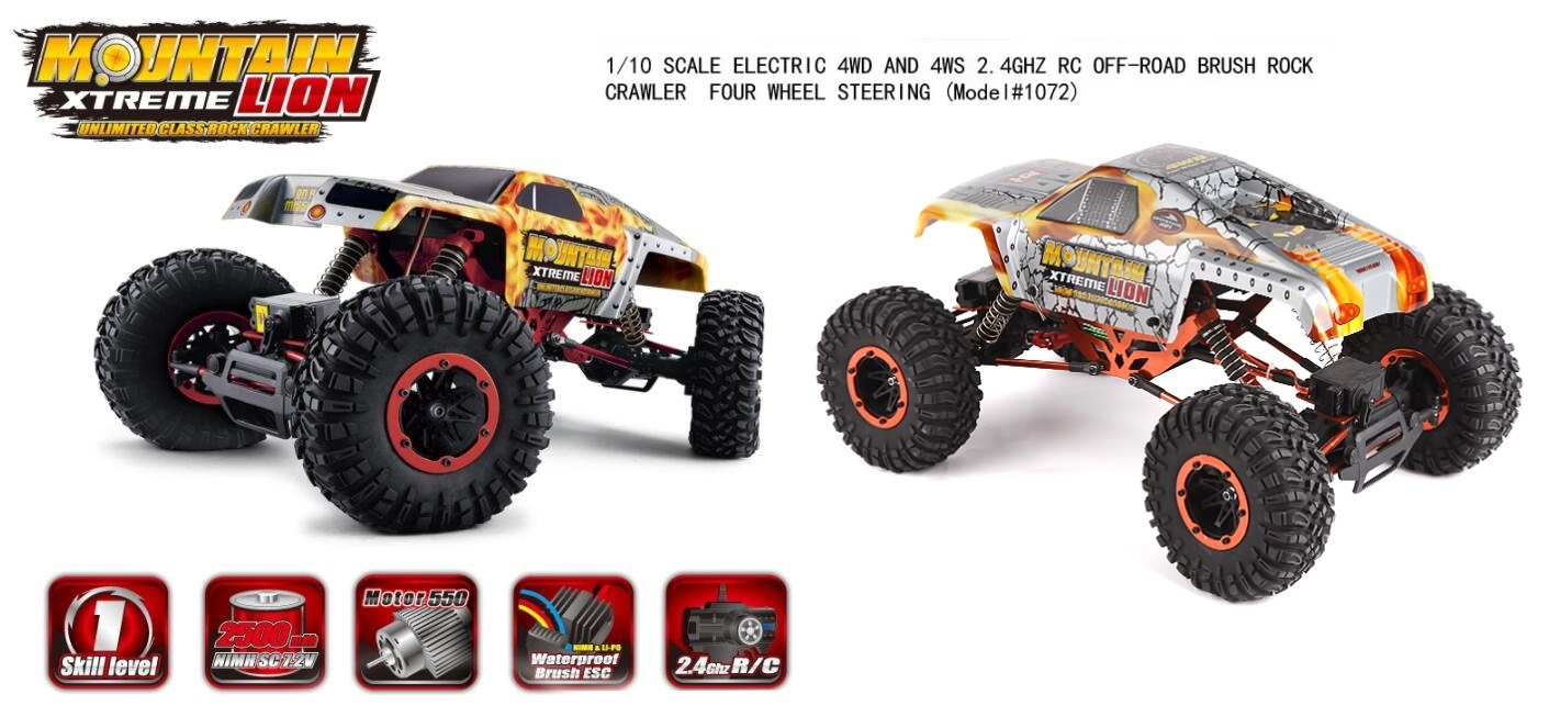 REMO HOBBY Mountain Lion 1072 Parts