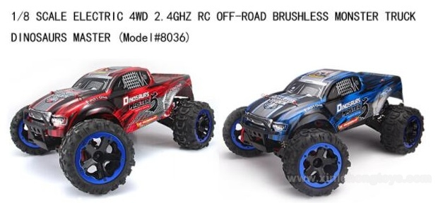 REMO HOBBY 8036 Parts