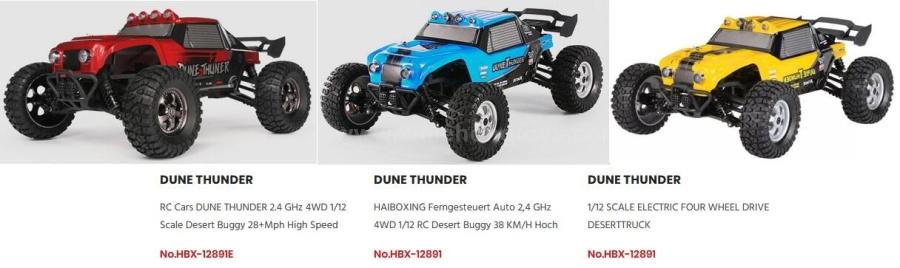 HBX 12891 12891E Parts
