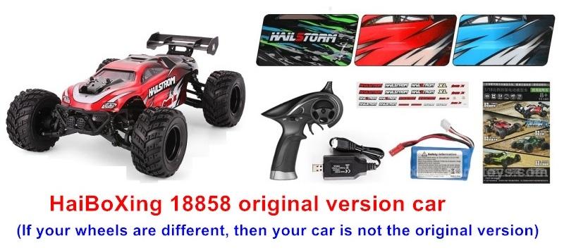 HBX 18858 Hailstrom Parts