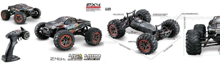 XinLeHong Toys 9125 Parts