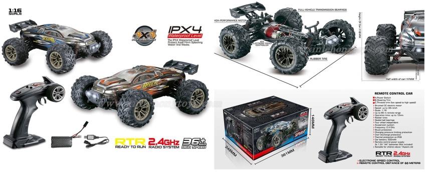 XinLeHong Toys 9136 Parts