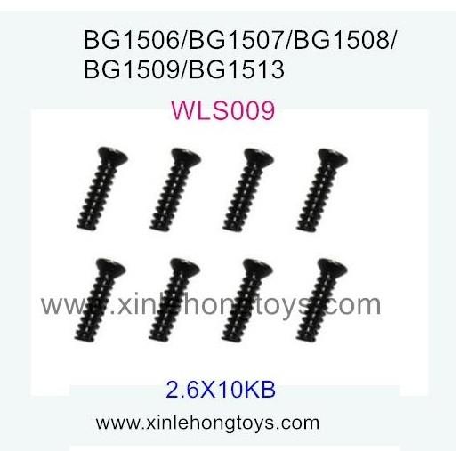 Subotech BG1509 Parts Countersunk Head Screws WLS009 2.6X10KB