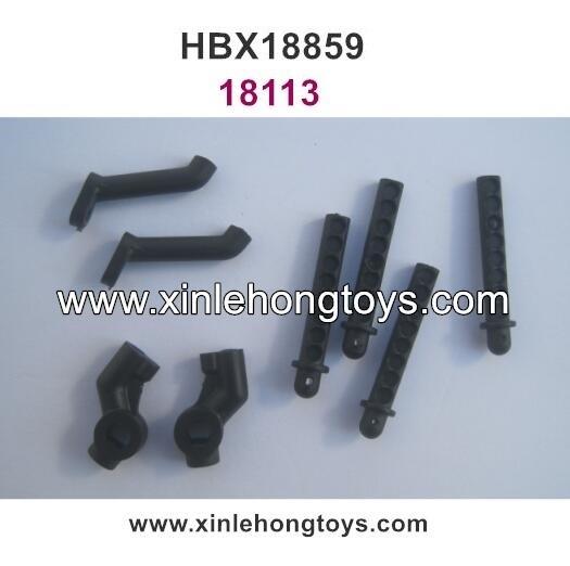 HBX Blaster 18859 Parts Body Post Mount, Car Shell Bracket 18113