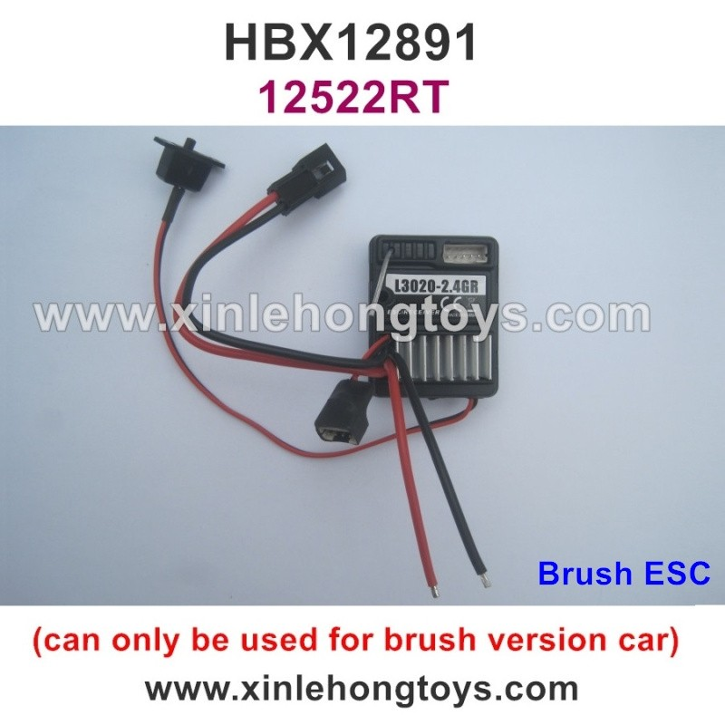 HaiBoXing HBX 12891 Dune Thunder Parts ESC Receiver 12522RT