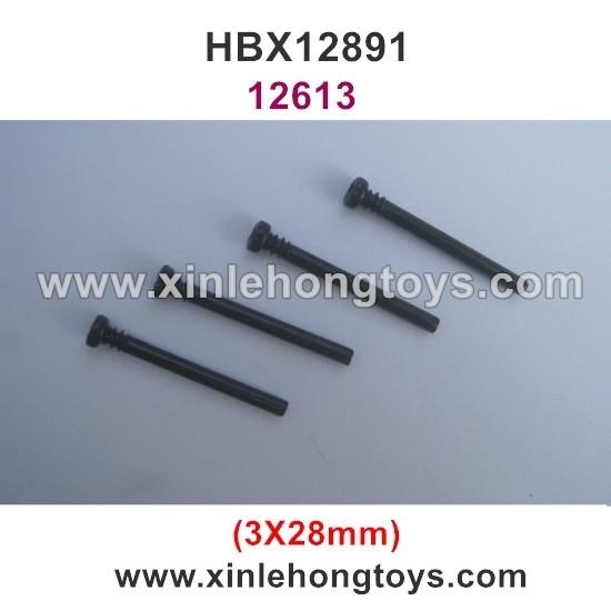 HBX 12891 Parts Front Upper Suspension Pins 12613