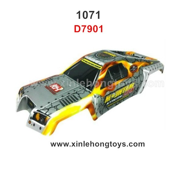 REMO HOBBY 1071 Parts Body Shell D7901