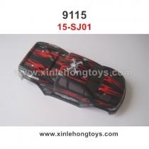 XinleHong Toys 9115 S911 Parts Car Shell Red 15-SJ01