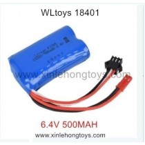 WLtoys 18401 Battery 6.4V 500MAH