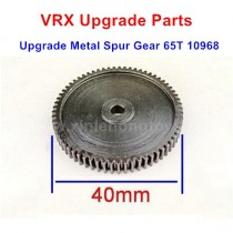 VRX Racing Upgrade Parts Metal Spur Gear 65T 10968
