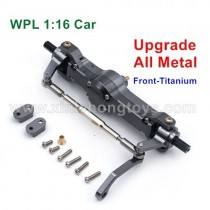 WPL B16 B1 Upgrade Metal Front Differential Gear Assembly