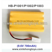 HB-P1001 Battery 9.6V 700mAh