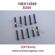 HBX 12889 Parts Screw 2X12mm S204