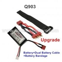 XinleHong toys Q903 Upgrade Battery Set