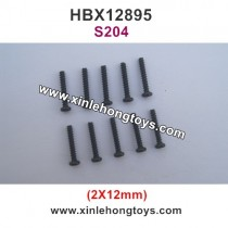 HBX 12895 Parts Screw 2X12mm S204