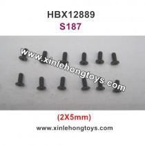 HBX 12889 Thruster Parts Screw 2X5mm S187