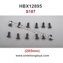 HBX 12895 Transit Parts Screw 2X5mm S187