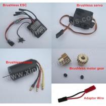 HBX 12813 SURVIVOR MT Brushless Kit