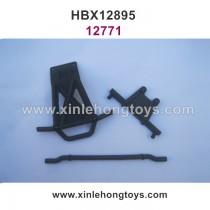 HBX 12895 Transit Parts Front Bumper+Body Posts 12771