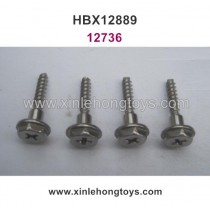 HBX 12889 12889E Thruster Parts Wheel Lock Screws 12736
