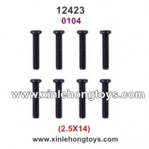 Wltoys 12423 Spare Parts Screws 0104