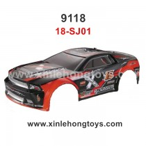 XinleHong Toys 9118 Parts Car Shell, Body Shell 18-SJ01