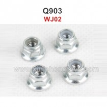 XinleHong Q903 Parts M4 Locknut WJ02