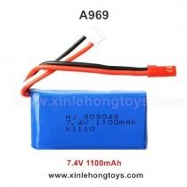 WLtoys A969 Battery 7.4V 1100mah