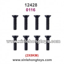 Wltoys 12428 RC Car Parts Screws 0116