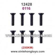 Wltoys 12428 RC Car Parts Screws 0116