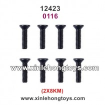 Wltoys 12423 RC Car Parts Screws 0116