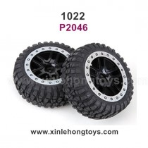 REMO HOBBY 1022 Parts Tire, Wheel P2046