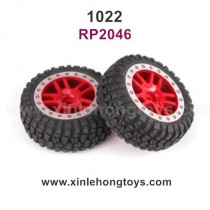 REMO HOBBY 1022 Parts Tire, Wheel RP2046