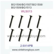 Subotech BG1509 Parts Flat Head Screw WLS013 2.6X14PB