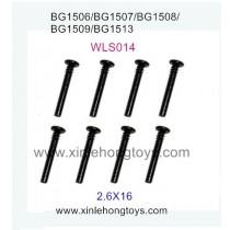Subotech BG1509 Parts Half Teeth Screw WLS014 2.6X16