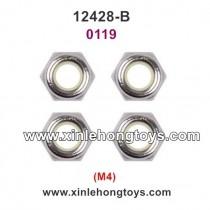 Wltoys 12428-B Parts M4 Lock Nut 0119