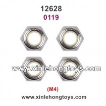Wltoys 12628 Parts M4 Lock Nut 0119