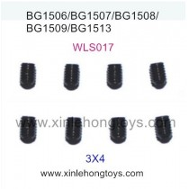 Subotech BG1513 BG1513A BG1513B Parts Inner Hexangular screw WLS017