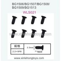 Subotech BG1513 BG1513A BG1513B Parts Flat Head Screw WLS021 2.3X6PB
