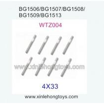 Subotech BG1513 BG1513A BG1513B Parts Iron Shaft, Iron Rod WTZ004 4X33