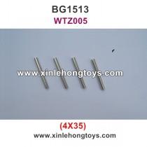Subotech BG1513 Parts Iron Shaft, Iron Rod  WTZ005 4X35