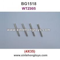 Subotech BG1518 Parts Iron Shaft, Iron Rod  WTZ005 4X35