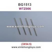 Subotech BG1513 BG1513A BG1513B Parts Iron Shaft, Iron Rod WTZ006 3X54.5
