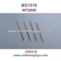 Subotech BG1518 Parts Iron Shaft, Iron Rod WTZ006 3X54.5