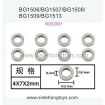 Subotech BG1509 Parts Ball Bearing WZC001 4X7X2mm