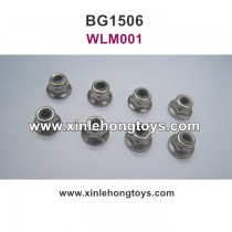 Subotech BG1506 Parts Lock Nut, Anti Slip Nut  WLM001 M4