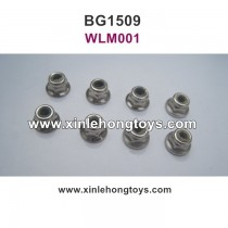 Subotech BG1509 Parts Lock Nut, Anti Slip Nut  WLM001 M4