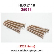 HaiBoXing HBX 2118 Parts Suspension Pins (2X21.8mm) 25015