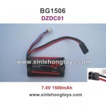 Subotech BG1506 Battery 7.4V 1500mAh 18650 DZDC01
