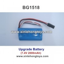 Subotech BG1518 Upgrade Battery 7.4V 2000mAh